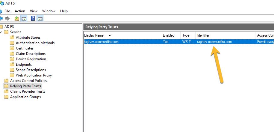 ADFS / SAML 2 0 SSO | Communifire Documentation
