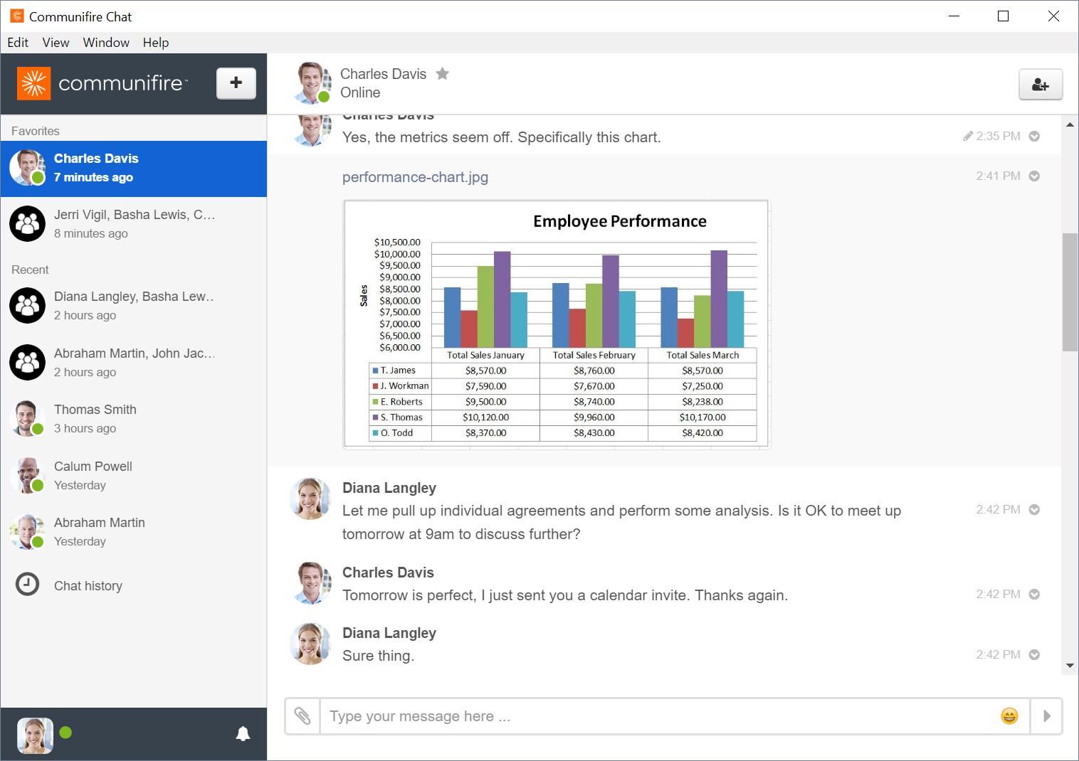 Desktop Chat App   Communifire Documentation