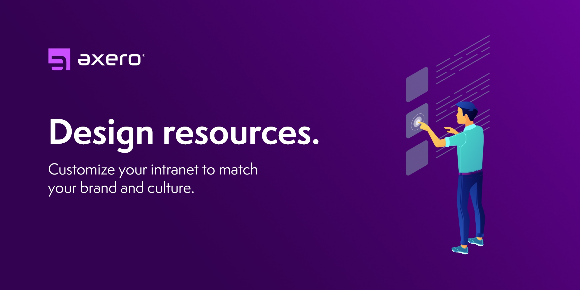 Axero design resources